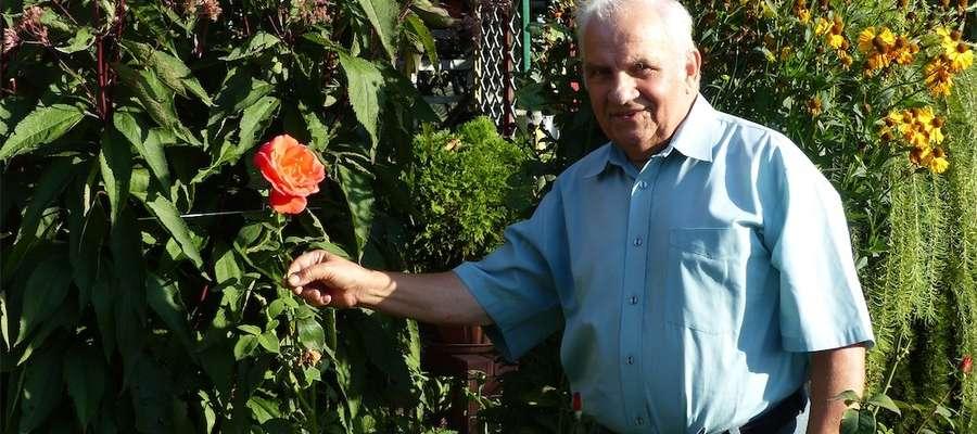 Jan Kamiński jest działkowcem od 1972 roku i ani myśli o rezygnacji z tej przyjemności