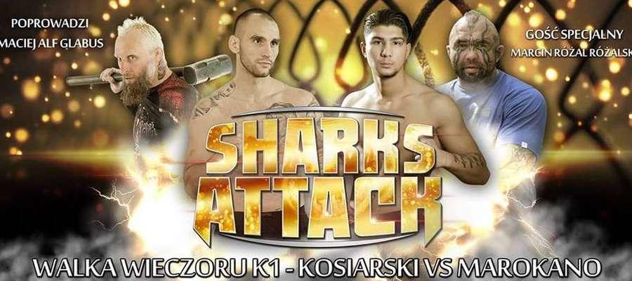 Na galę Sharks Attack zapraszamy 8 grudnia