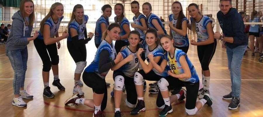 Juniorki SMS Ostróda w Olsztynie wygrały 3:0