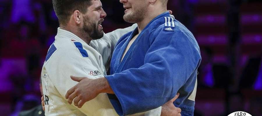 Maciej Sarnacki (z prawej) rok temu zajął Grand Slam w Abu Dhabi drugie miejsce