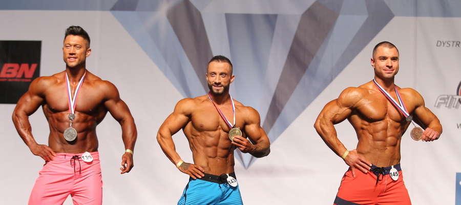 Daniel Weisgerber (pierwszy z prawej) zajął ostatnio trzecie miejsce w międzynarodowych zawodach Diamond Cup w Zabrzu