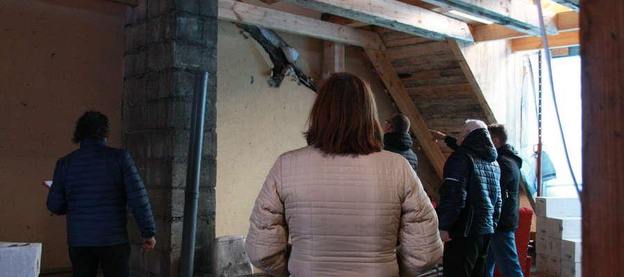 Zdjęcie wykonane podczas oględzin lokalu