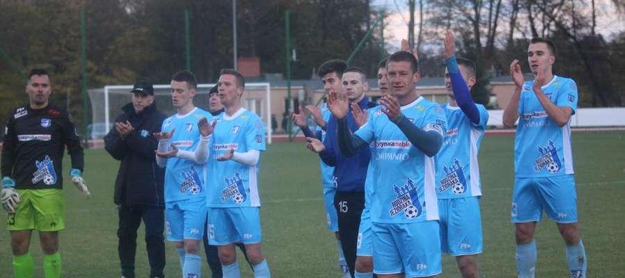 Piłkarze z Iławy odnieśli w sobotę cenne wyjazdowe zwycięstwo