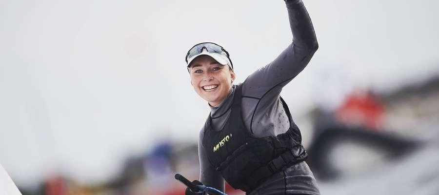 Agata Barwińska po raz trzeci z rzędu wywalczyła mistrzostwo Polski w klasie laser radial