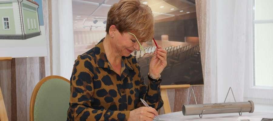 Dyrektor PSM w Giżycku Alina Skupińska