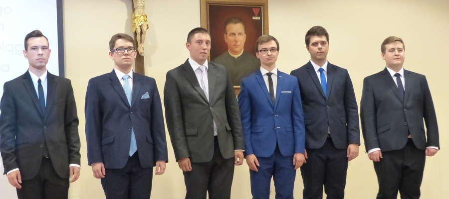 Do grona uczących się w nim kleryków dołączyło sześciu nowych seminarzystów