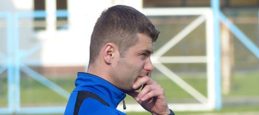 Wojciech Figurski, trener Jezioraka Iława, po meczu z Concordią nie mógł być zadowolony z wyniku i gry swojej drużyny