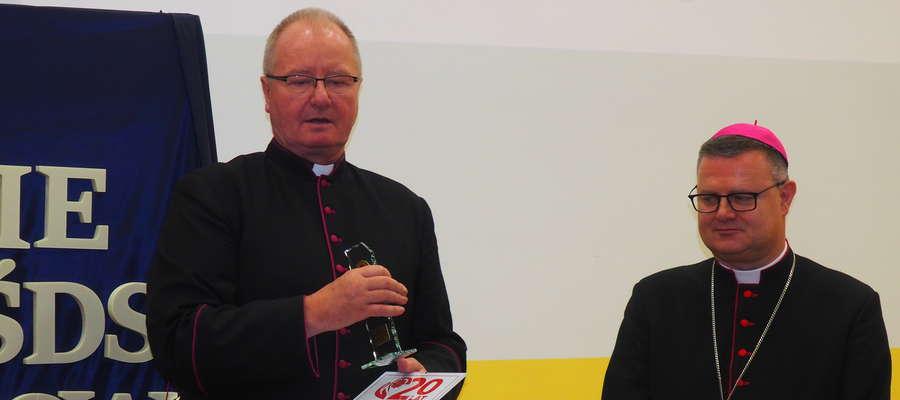 Na uroczystości obecny był Ks. Biskup Wiesław Śmigiel