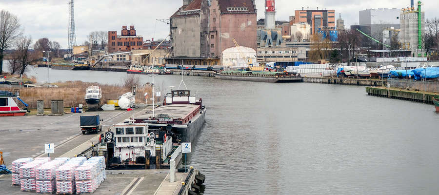 Podczas debat nie zabrakło oczywiście pytań o przyszłość elbląskiego portu po przekopie Mierzei Wiślanej