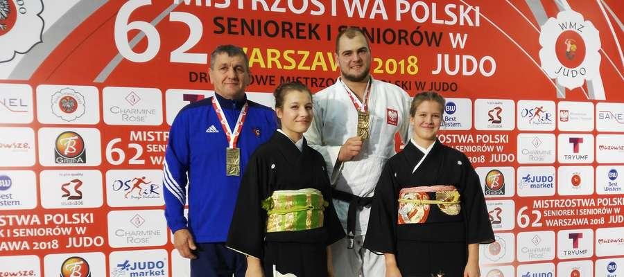 Maciej Sarnacki, mistrz Polski w wadze ciężkiej