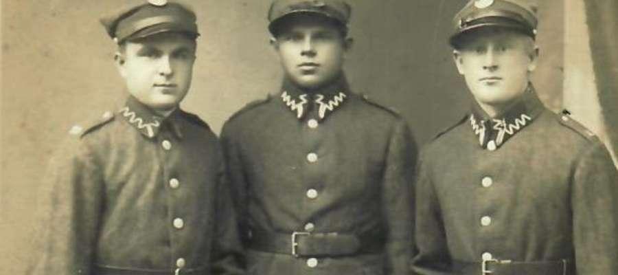 Konstanty Kazimierz Ralkiewicz (z prawej)
