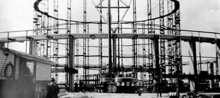 Budowa hali Urania w Olsztynie