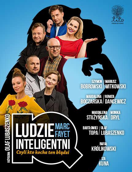 """""""Ludzie inteligentni"""", reż. Olaf Lubaszenko  - full image"""