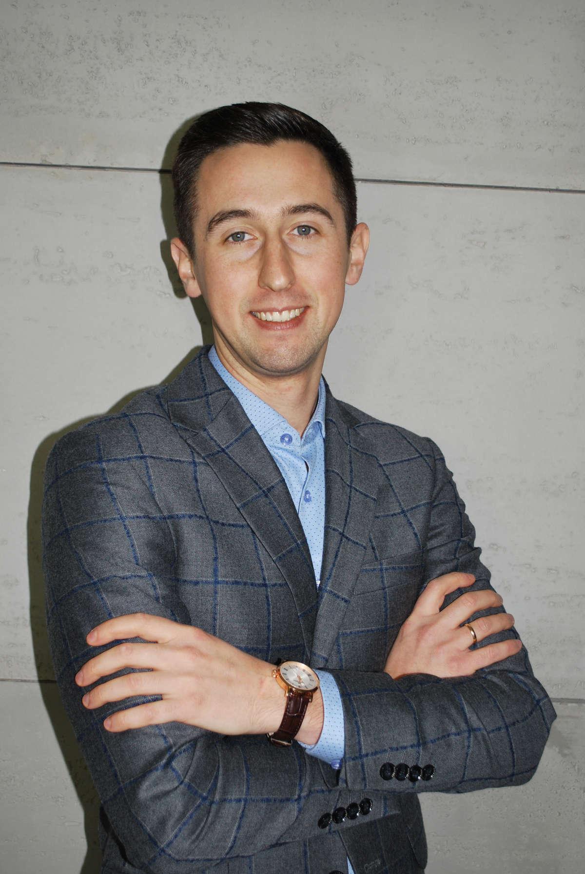 Konrad Zielaskiewicz - prezes firmy GLOB-METAL