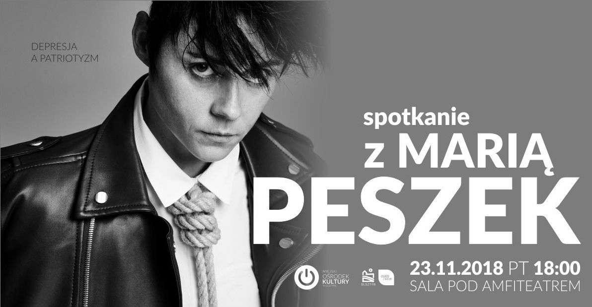 Depresja na patriotyzm: Spotkanie z Marią Peszek - full image
