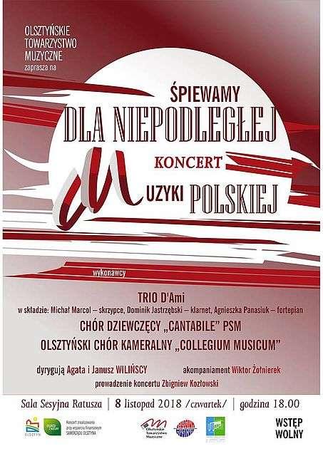 Śpiewamy dla Niepodległej w Olsztynie - full image