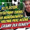 Charytatywny turniej piłkarski służb mundurowych. Zagrają dla Renaty