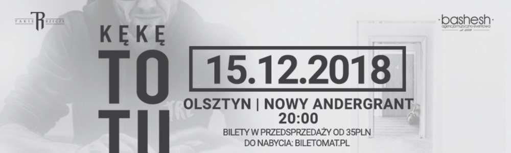 KęKę z albumem To Tu w Olsztynie