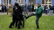 Tak obezwładniają agresywnego więźnia [zdjęcia, film]