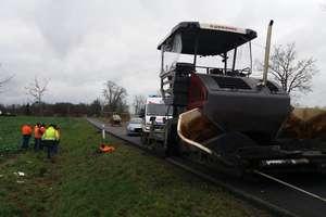 Śmiertelny wypadek przy pracy na drodze krajowej nr 51