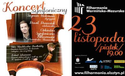 Koncert symfoniczny w filharmonii