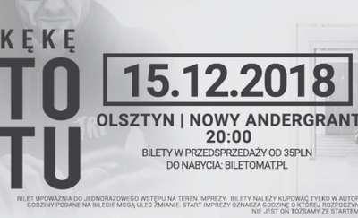 """KęKę z albumem """"To Tu"""" w Olsztynie"""