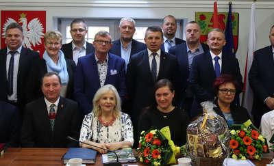 Radni gminy Ostróda spotkali się na pożegnalnej sesji [zdjęcia]
