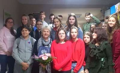 Spotkanie z poetką - Heleną Grącką w ZPO nr 1