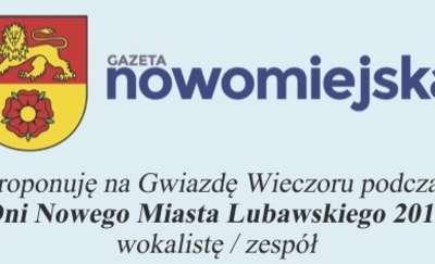 Zaproponuj muzyczną gwiazdę na Dni Nowego Miasta Lubawskiego 2019