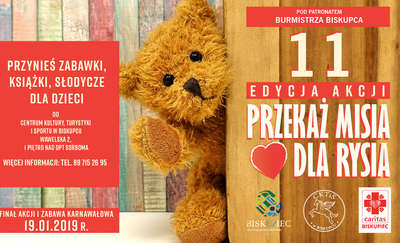 Zbieramy zabawki dla dzieci z gminy