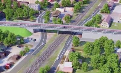 Zakończenie budowy wiaduktu w Ostródzie z poślizgiem? Budimex odpowiada