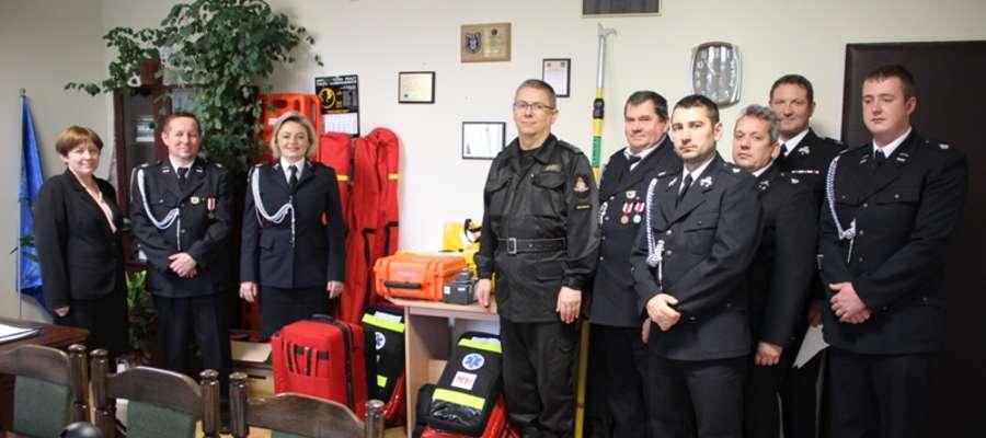 Strażacy ochotnicy z gminy Wilczęta otrzymali nowoczesny sprzęt