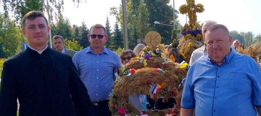 Ks. Krzysztof Karbowski jest organizatorem m.in. dożynek gminnych