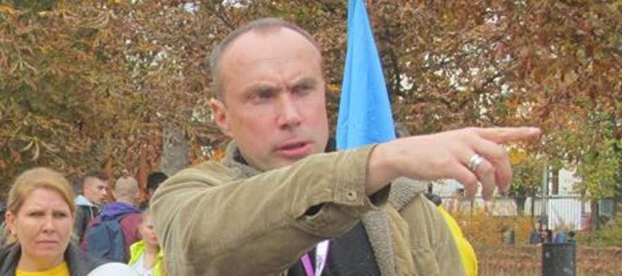 Mariusz Zalewski, szef Patrolu