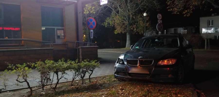 Do zatrzymania pijanego kierowcy doszło w centrum Iławy, przy ul. Jana III Sobieskiego