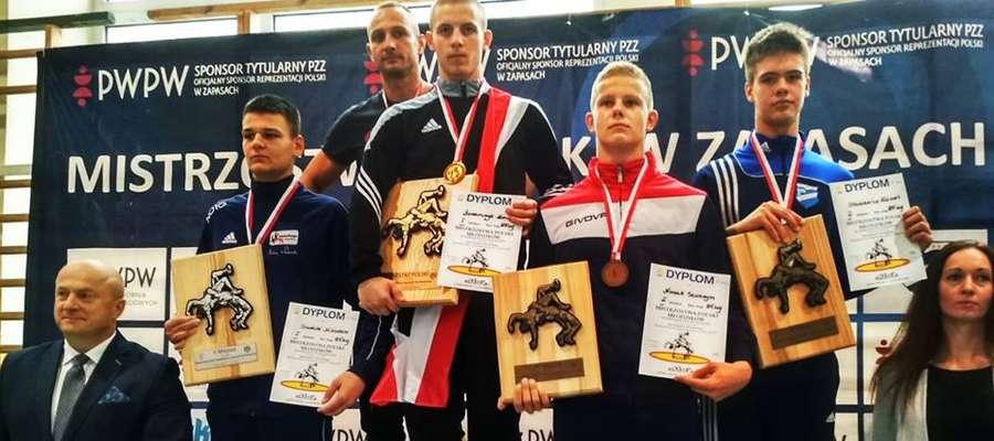 Konrad Łazarczyk ponownie stanął na najwyższym stopniu podium