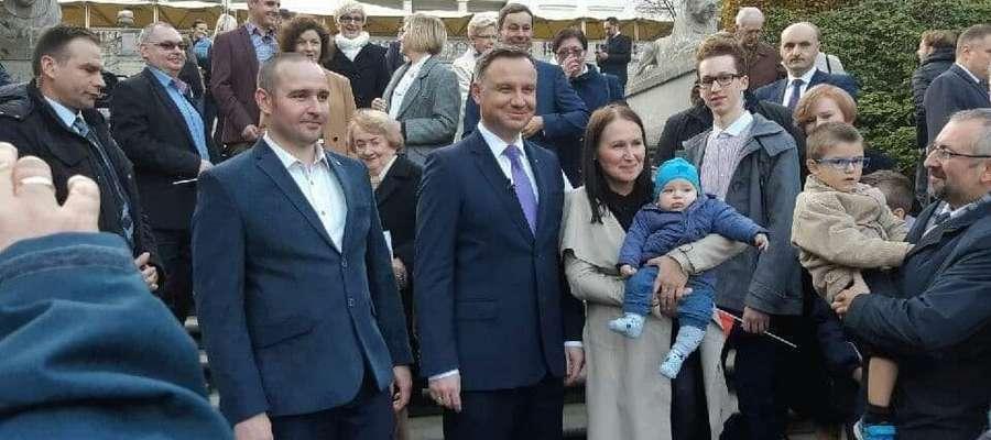 Jolanta Karpińska wzięła udział w nagraniu spotu Prezydenta Andrzeja Dudy