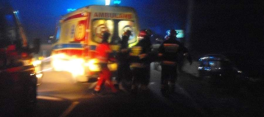 Osoby poszkodowane trafiły do szpitali