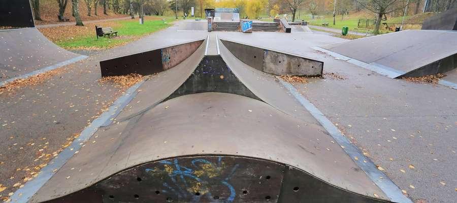 Skatepark czekają przenosiny