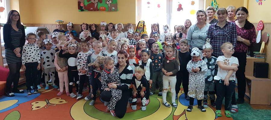 Przedszkolaki z Mroczna w Dniu Kundelka