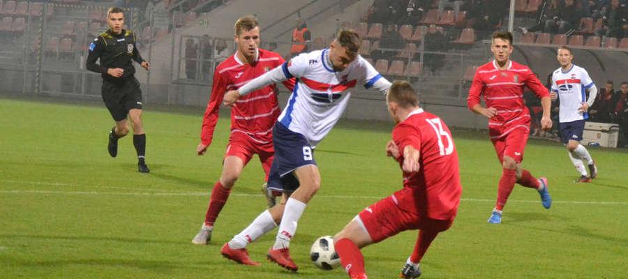 Mateusz Broź wrócił do III ligi i strzelił zwycięskiego dla Sokoła