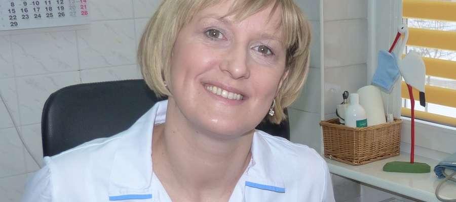 Położna Barbara Chojnowska z Iławy zachęca do wzięcia udziału w spotkaniu w Jędrychowie
