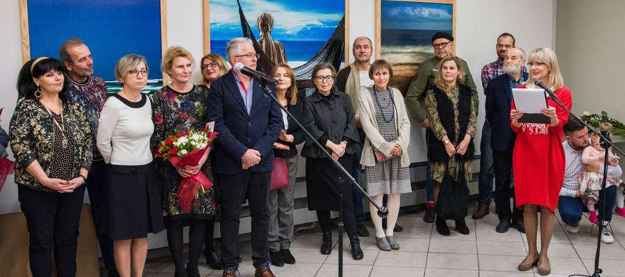 Wernisaż w olsztyńskiej BWA odbył się 8 listopada, ale wystawa potrwa do 9 grudnia