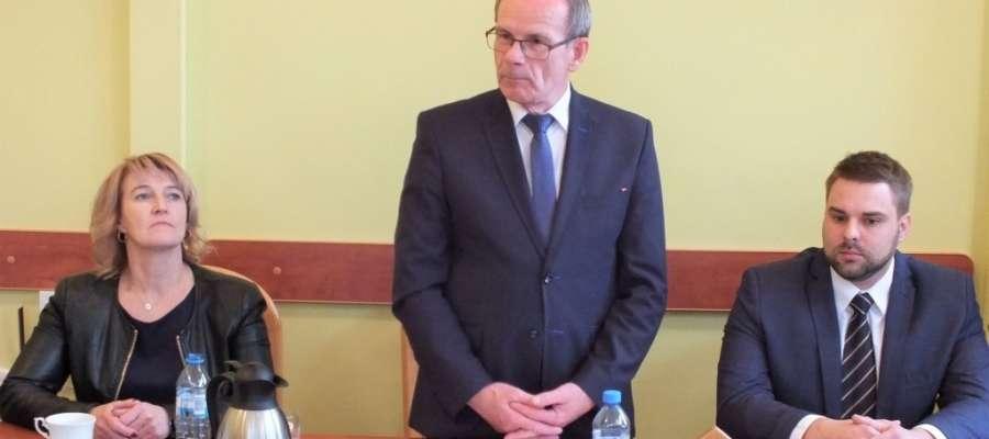 Nowym przewodniczącym Rady Miejskiej w Suszu został Stanisław Blonkowski