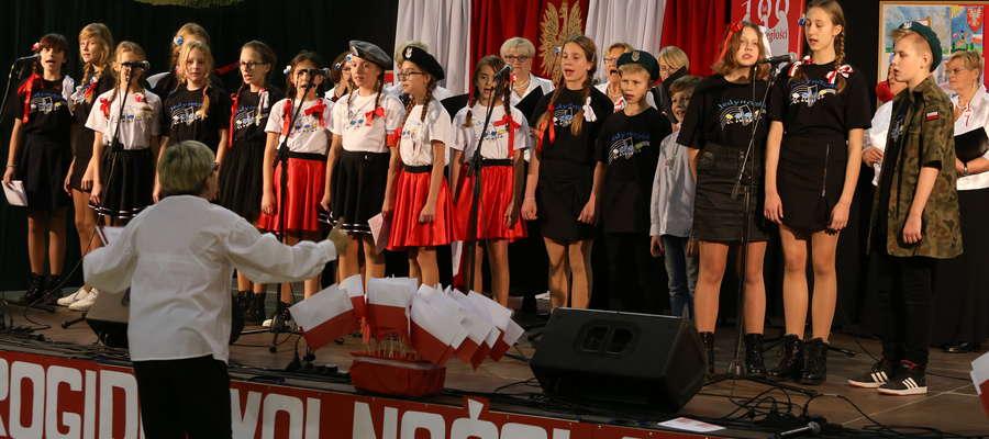 Tegorocznym Morcinkom przyświecały hasła związane z niepodległością Polski.