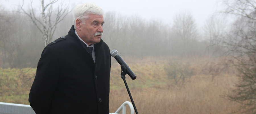 Franciszek Andruszkiewicz żegna się z urzędem po 28 latach.
