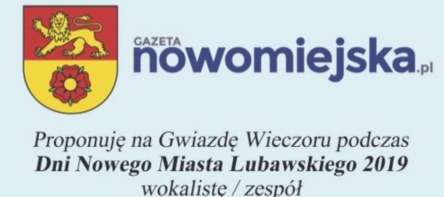 """Wytnij kupon z """"Gazety Nowomiejskiej"""", wypełnij i przynieś do redakcji"""