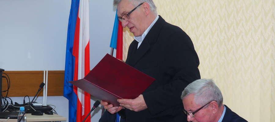 Michał Struzik nowy przewodniczący rady powiatu