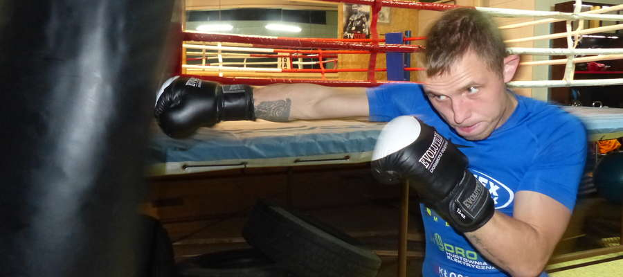 W Boxing Club Iława trenuje już m.in. Ukrainiec Sierhii Burba