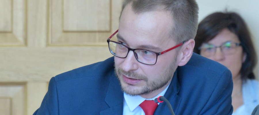 Dawid Kopaczewski, burmistrz Iławy